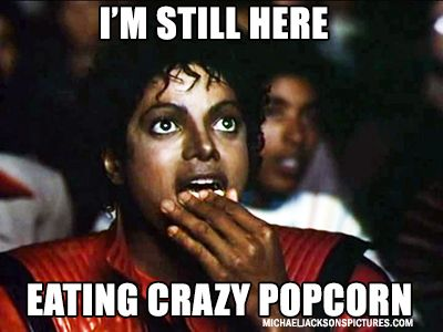MJ Popcorn Meme
