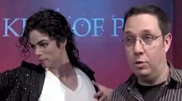 Michael Jackson Wax Figure